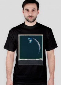 Space Meeting T-Shirt/ black