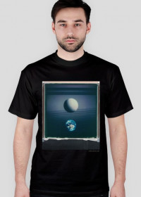 Space Pearl T-Shirt/ black