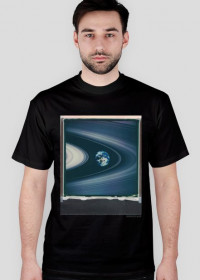 Saturn Rings T-Shirt/ black