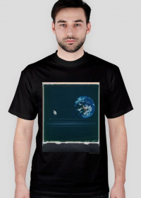 Space Mushroom T-Shirt/ black