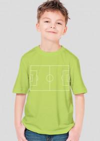 Boisko do piłki nożnej koszulka dla dzieci