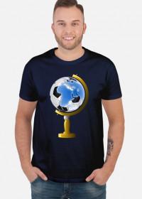 Koszulka mundialowa - piłka nożna globus
