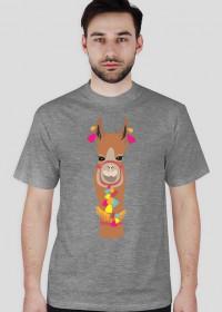 Ruda lama koszulka męska 1