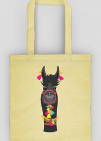czarna lama torba
