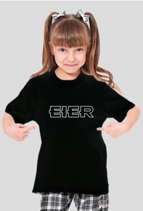 """Koszulka dziewczęca """"Eier"""""""