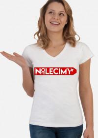 Koszulka damska z pełnym logiem