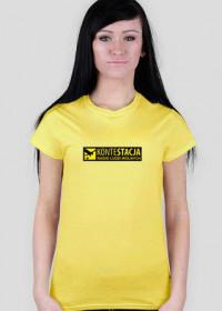 KonteStacja - żółta, damska