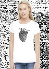 Polozna i serce koszulka