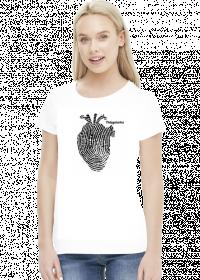 Pielegniarka i serce koszulka