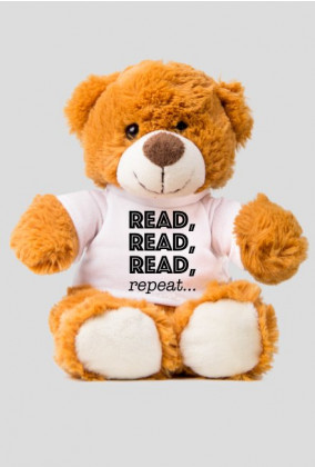 Miś Read, read, read, repeat...