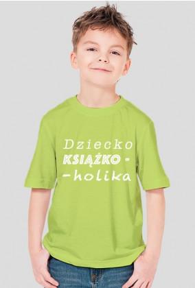 Koszulka chłopięca Dziecko książkoholika