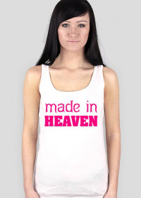 made in heaven (woman boxer t-shirt)