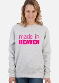 made in heaven (woman sweatshirt)