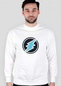 Bluza męska bez kaptura - Electroneum  Crypto