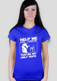 Koszulka damska - Help me stack overflow