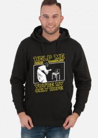 Bluza męska - Help me stack overflow