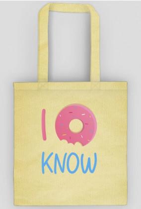 I donut know