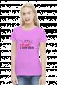Koszulka damska prezent dla informatyka programisty na mikołajki pod choinkę, na urodziny  - Dziwne u mnie działa