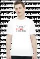 Koszulka męska prezent dla informatyka programisty na mikołajki pod choinkę, na urodziny  - dziwne u mnie działa