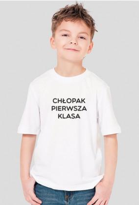 "Koszulka ""Chłopak Pierwsza Klasa"""
