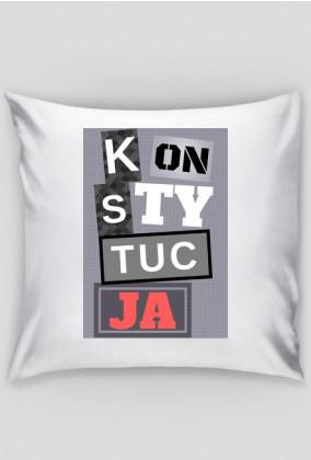 KonsTYtucJA - poduszka
