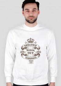 Biała Bluza Królowie rodzą się w Sierpniu