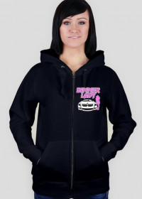 Bimmer Lady (woman zipped hoodie)