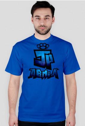 Koszulka JP Armia | Niebieska | Męska