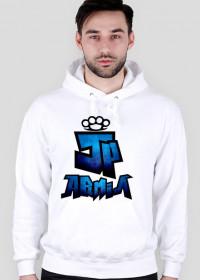 Bluza z Kapturem JP Armia | Niebieska |