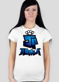 Koszulka JP Armia | Niebieska | Damska