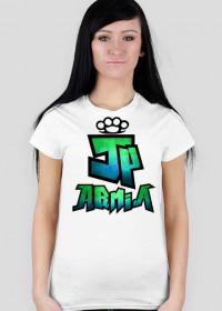 Koszulka JP Armia | Zielono-Niebieska | Damska