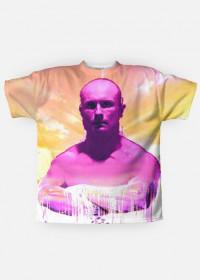 Zegarmistrz światła purpurowy koszulka fullprint