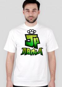 Koszulka JP Armia | Zielona | Męska