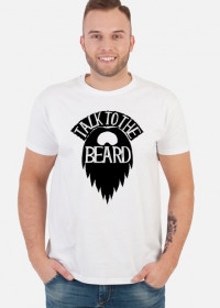 Koszulka dla brodacza - Talk to the beard