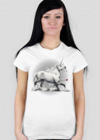 Shot - koszulka damska, jasna