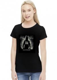 Don't be Alone tee girl