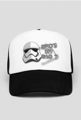 Czapka - WHO'S MY DAD? - Star Wars