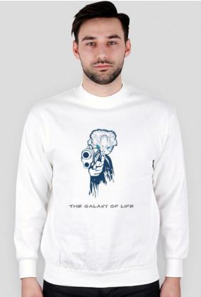 Bluza The Galaxy Of Life biały (męskie)