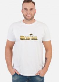 Gold Uncontrol - koszulka - biała