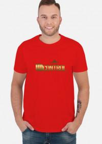 Gold Uncontrol - koszulka - czerwona