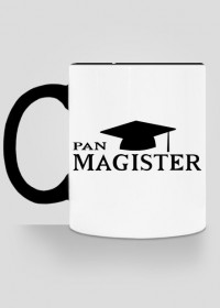 Prezent na obrone - kubek Pan Magister