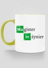 Kubek Magister Inzynier prezent na obrone