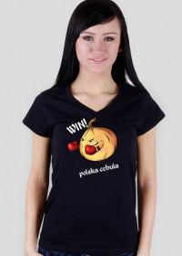 Polska cebula damską koszulka