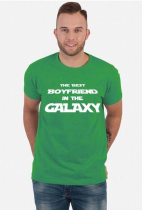 Koszulka The Best Boyfriend in the galaxy