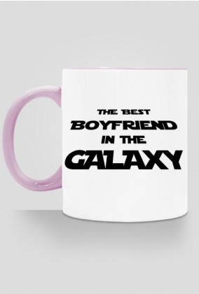 The Best Boyfriend in the galaxy kubek kolor