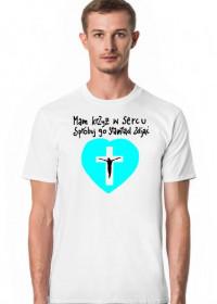 Mam krzyż w sercu [seledynowym]