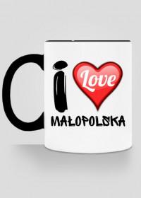Kubek I Love Małopolska - nadruk jednostronny