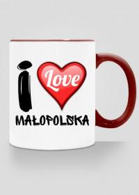Kubek I Love Małopolska - nadruk dwustronny