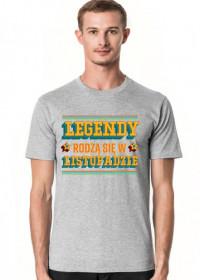 Koszulka Legendy rodzą się w Listopadzie