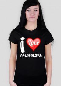 Koszulka I Love Małopolska